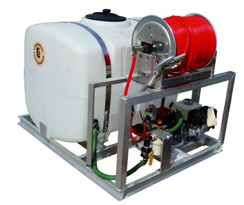 CCI - 200 Gallon PCO Sprayer Skid