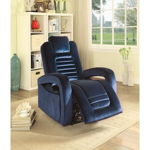 59580 BLUE POWER RECLINER