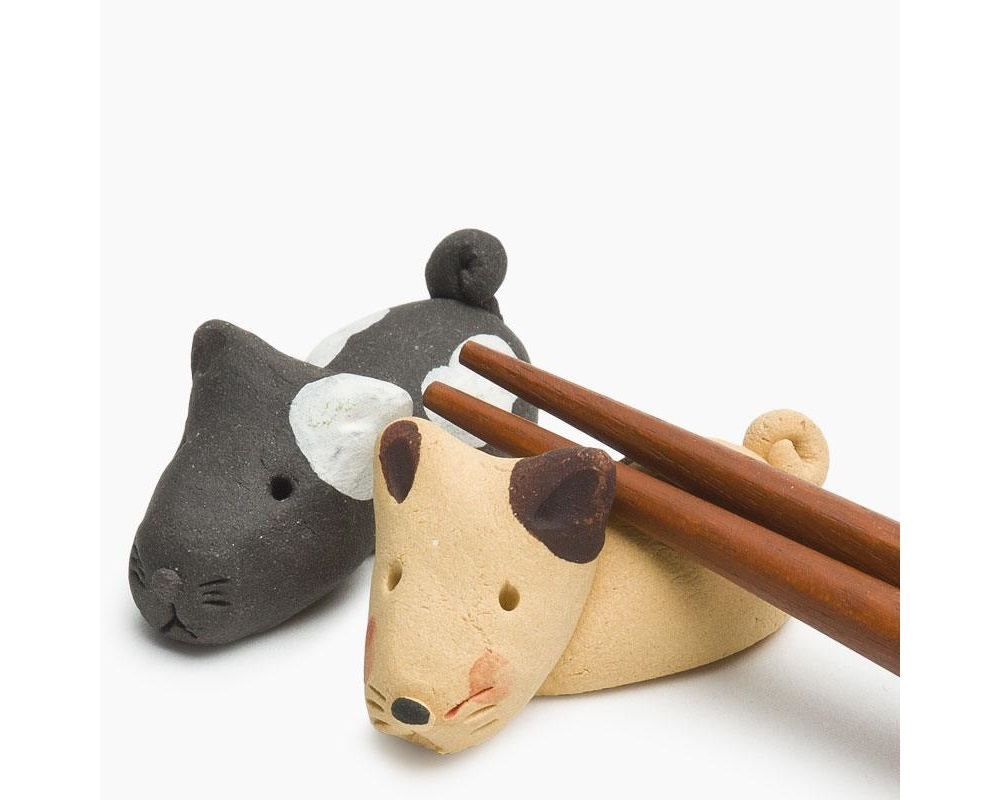 Dog Chopstick Rest