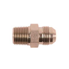 "1/2"" MPT X 10 MJIC Hydraulic Adapter Fitting 