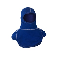 Majestic PAC III Firefighting Hood, 100% Nomex, Royal Blue