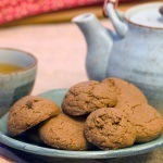 Pumpkin Seed Butter Chocolate Cookies