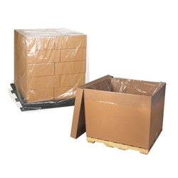 "40 X 27 X 51.5"" 1 MIL CLEAR POLY BAGS,"