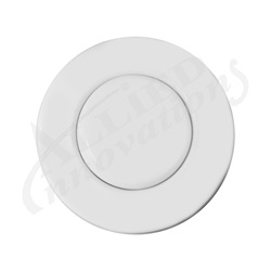 AIR BUTTON TRIM: #15 CLASSIC TOUCH, WHITE