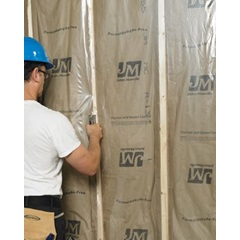 "30 X 60"" 2 MIL CLEAR POLY SHEETING, CENTER-FOLD, PERF'D ON A ROLL, 200/RL"