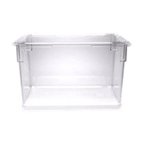 "Cambro Camwear 18""L x 26""W x 15""H Clear Food Storage Boxes"