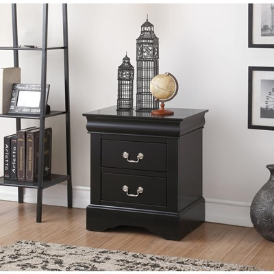 19503 BLACK L.P NIGHTSTAND