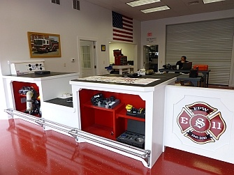 Shipman's Fire Equipment Scott Service Facility in Waterford, CT