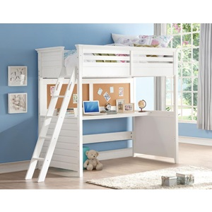 37670 LACEY TWIN LOFT BED