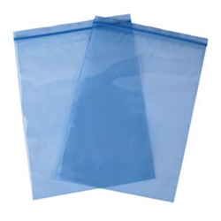 "12 X 18"" 4 MIL BLUE PREMIUM METAL GUARD VCI RECLOSABLE POLY BAG, 250/CS"