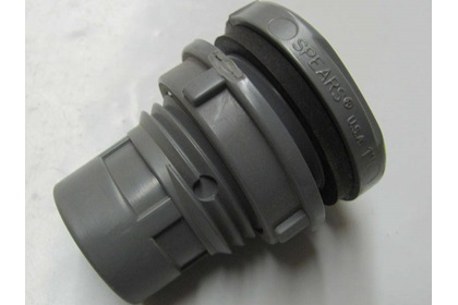 "1"" Tank Bulkhead Fitting With Viton Tank Gasket - CPVC"
