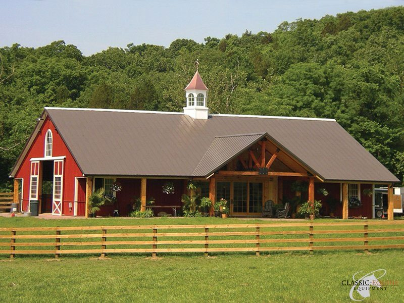 Custom barns commercial private equestrian projects for Custom built barn homes