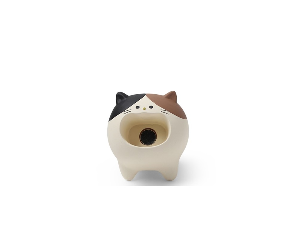 Paper Clip Holder - Calico