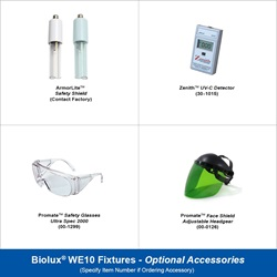 Biolux WE10 Optional Accessories