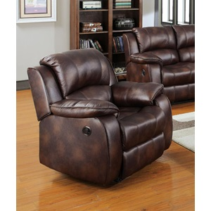 50512 BROWN P-MFB RECLINER
