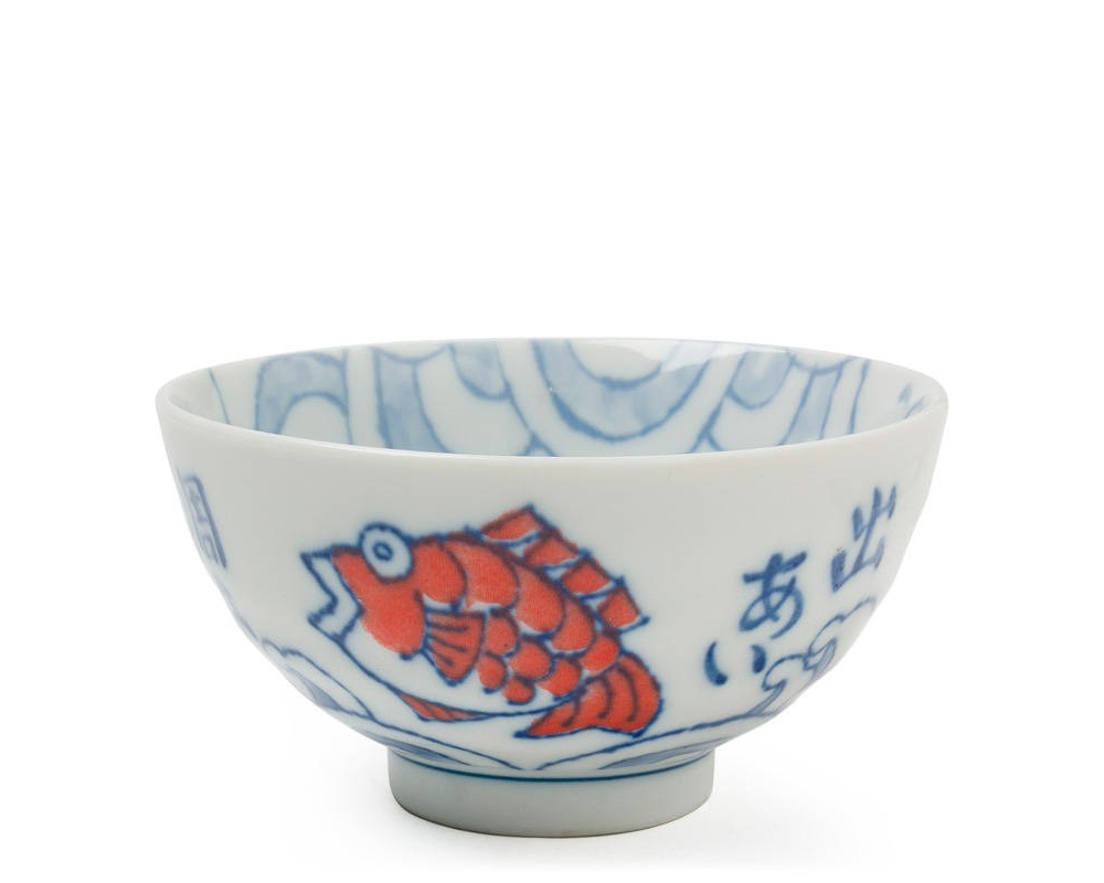 "Red Tai 4.5"" Rice Bowl"