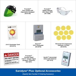 Sanidyne Plus Optional Accessories