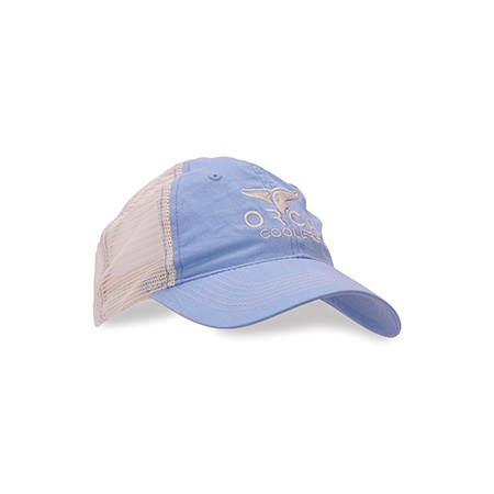Sky Blue Low Profile Trucker Hat