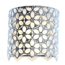 "9.5""H Poetic Wanderlust by Tracy Porter Fairlea Jeweled Cordless LED Sconce"