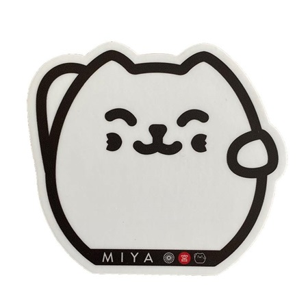 Miya Sticker Fortune Cat