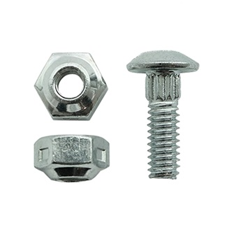 Sickle Section Bolt-on Fastener Bolt W/Locknut