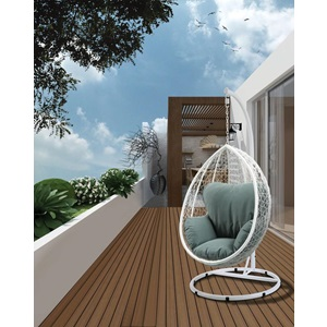 45032 SIMONA WHITE HANGING CHAIR