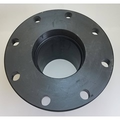 "6"" Polyethylene Weld Flange Tank Fitting - Top"