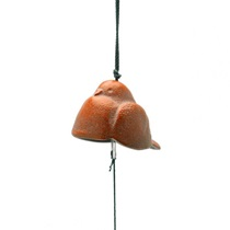 Wind Chime Dove Red 1-1/2""