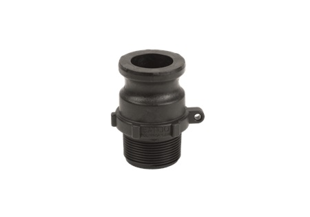 "1 1/2"" Male Adapter x 1 1/2"" MPT - Banjo Cam Lever Coupling"
