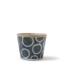 Rustic White Soba Cup