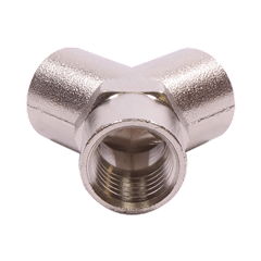 "1/4"" Female Wye (Y) Pipe Fitting View 3"