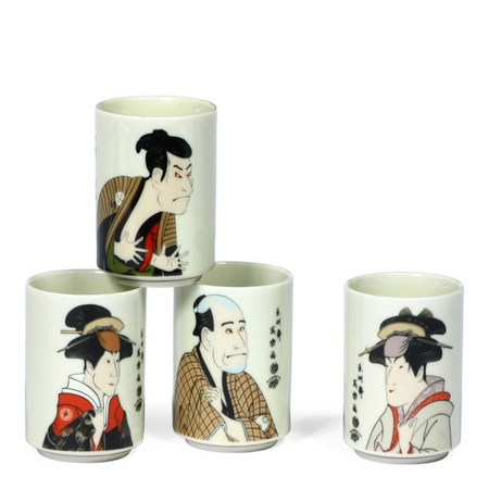 Sharaku 5 Oz. Teacup Set