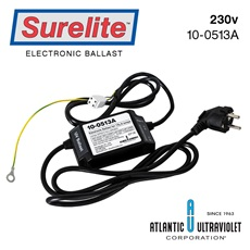 Ballast: 230v50/60Hz Schuko Plug / Ground / Alarm / LED