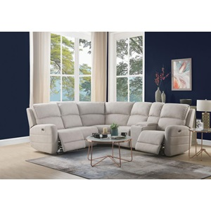 53920 OLWEN CREAM SECTIONAL SOFA