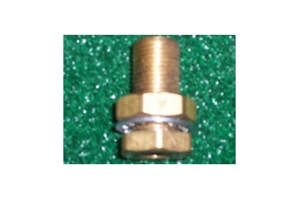 "1/8"" Bulkhead Connector"