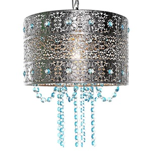 "14.5""H Poetic Wanderlust by Tracy Porter Matte Jeweled Metal w/ Cascading Crystals"