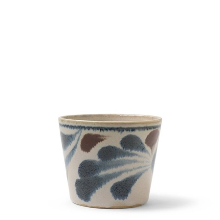 Rustic Blue Vines Soba Cup