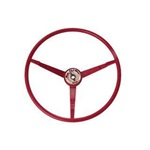 1966 Standard Steering Wheel (Dark Red)