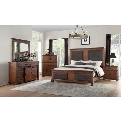 27160Q VIBIA QUEEN BED