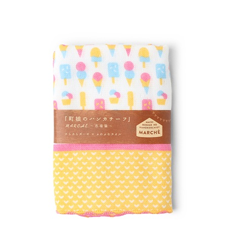 "Towel 9.75"" X 9.75"" Ice Cream"