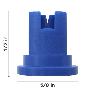 Blue 110° Nozzle Spacing With Ceramic Insert