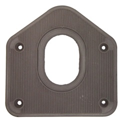 Brown gearshift floorplate