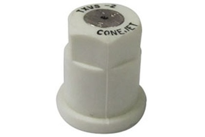 ConeJet TeeJet TX-VS2 - White VisiFlo Hollow Cone Stainless Steel Nozzle