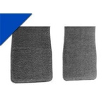 Carpet Floor Mats (Bright Blue)
