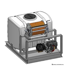 Illustration for 200 Gallon PCO Sprayer Skid