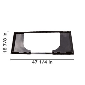 Weld-On Skid Steer Adapter Plate