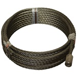 "7/8"" x 30' CABLE & BUTTON"