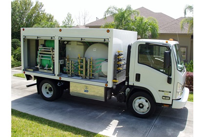 Custom Lawn & Shrub Spray Truck For Sale | 1200 Series