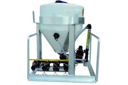 15 Gallon Injection System Skid