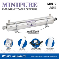 MINIPURE® MIN-9 What's Included